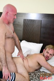 Brad Ramsey And Ray Stone from Hairy And Raw