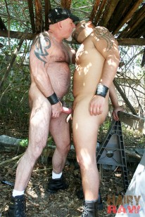 Mac Brody And Tony Rivera from Hairy And Raw