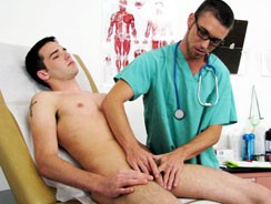 Gay Porn - Dr Quinn And Kevin from College Boy Physicals
