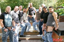 Trace Leches Gangbang from Hairy And Raw