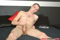 Desperate Angel Jerks It from Broke Straight Boys