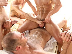 Gay Porn - Super Bathhouse Orgy Fun from Gay Room