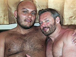 Darren Kane And Tony Rivera from Hairy And Raw