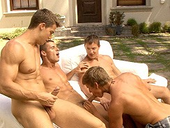gay sex - Kris Kevin Manuel Sacha 2 from Bel Ami Online