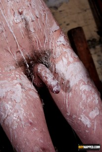 Jonny Waxed And Wanked from Boynapped