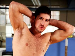 Leo Domenico In The Office from Uk Naked Men