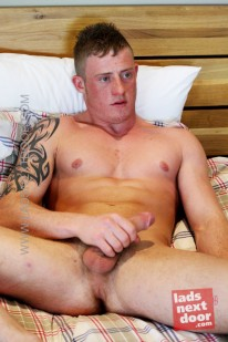 Harry Morton from Lads Next Door