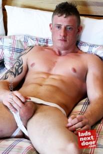 Harry Morton from Lads Next Door