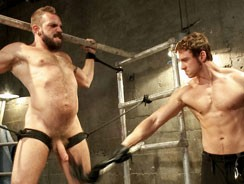 Gay Porn - Connor Maguire And Johnny Par from Bound Gods