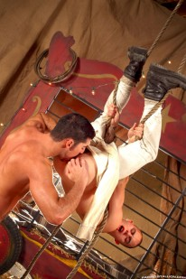 Leo Domenico And Genesis Luna from Raging Stallion