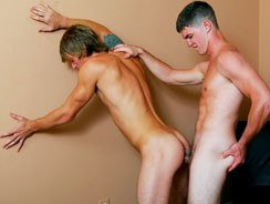 Gay Porn - Jerry Ford Fucks Tom Faulk from College Dudes