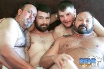 Tbru Group Fuck from Bear Films