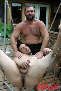 Jake Rod And Trace from Hairy And Raw