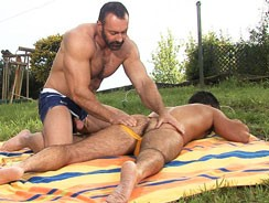 Gay Porn - Fur Mountain - Scene 5 from Colt Studio