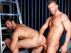 Gay Porn - Retro Sex 2 Blue Hanky from High Performance Men