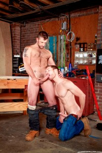Morgan Black And Billy Berlin from Raging Stallion