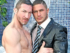 Gay Porn - Dato Foland Poolside from Men At Play