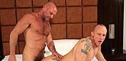 Chad Brock And Mason Garet from Bareback That Hole