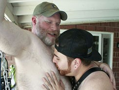 Gay Porn - Shep Hunter And Chris Rojo from Bear Films