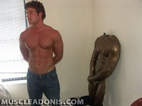 Adonis Pete Gets Immortalized from Muscle Adonis