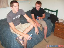 Ben And Dean Bareback from Tx College Boys