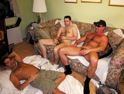 gay sex - Officer X Nick And Bobby from New York Straight Men