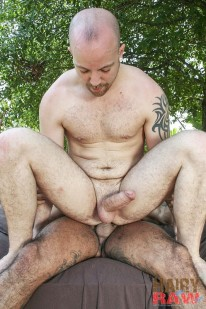 Lex Antoine And Bo Bangor from Hairy And Raw