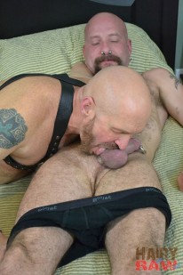 Snake Stone And Buster Boudre from Hairy And Raw