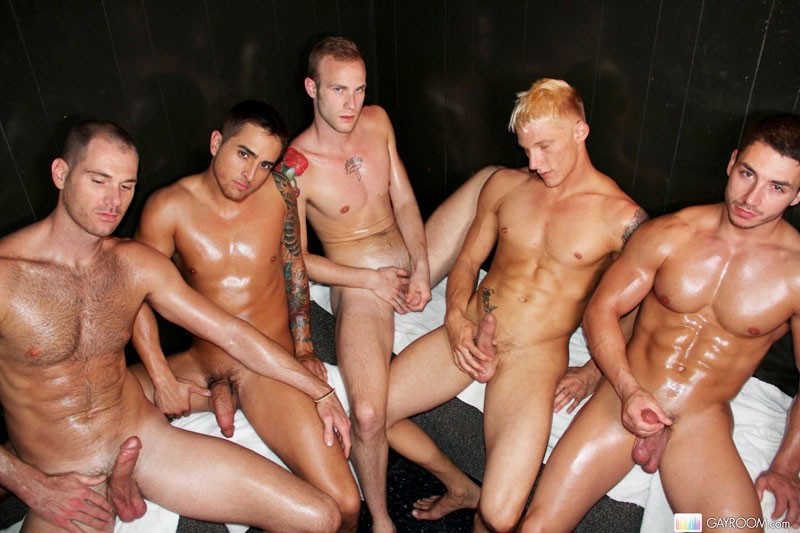 hot gay sex in sauna