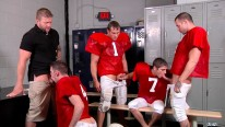 Football Fuckdown Part3 Scen1 from Jizz Orgy By Men