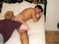 Servicing Tino from New York Straight Men