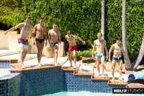 Bareback Pool Party from Helix Studios