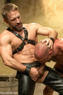 Dirk Caber And Chad Brock from Bound Gods