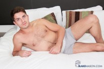 Handsome Benjamin Wanks from Blake Mason