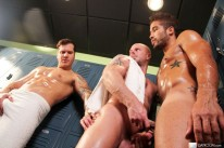 Locker Room Tryst from Bath House Bait