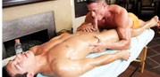 Gentle Cock Massage from Gay Room