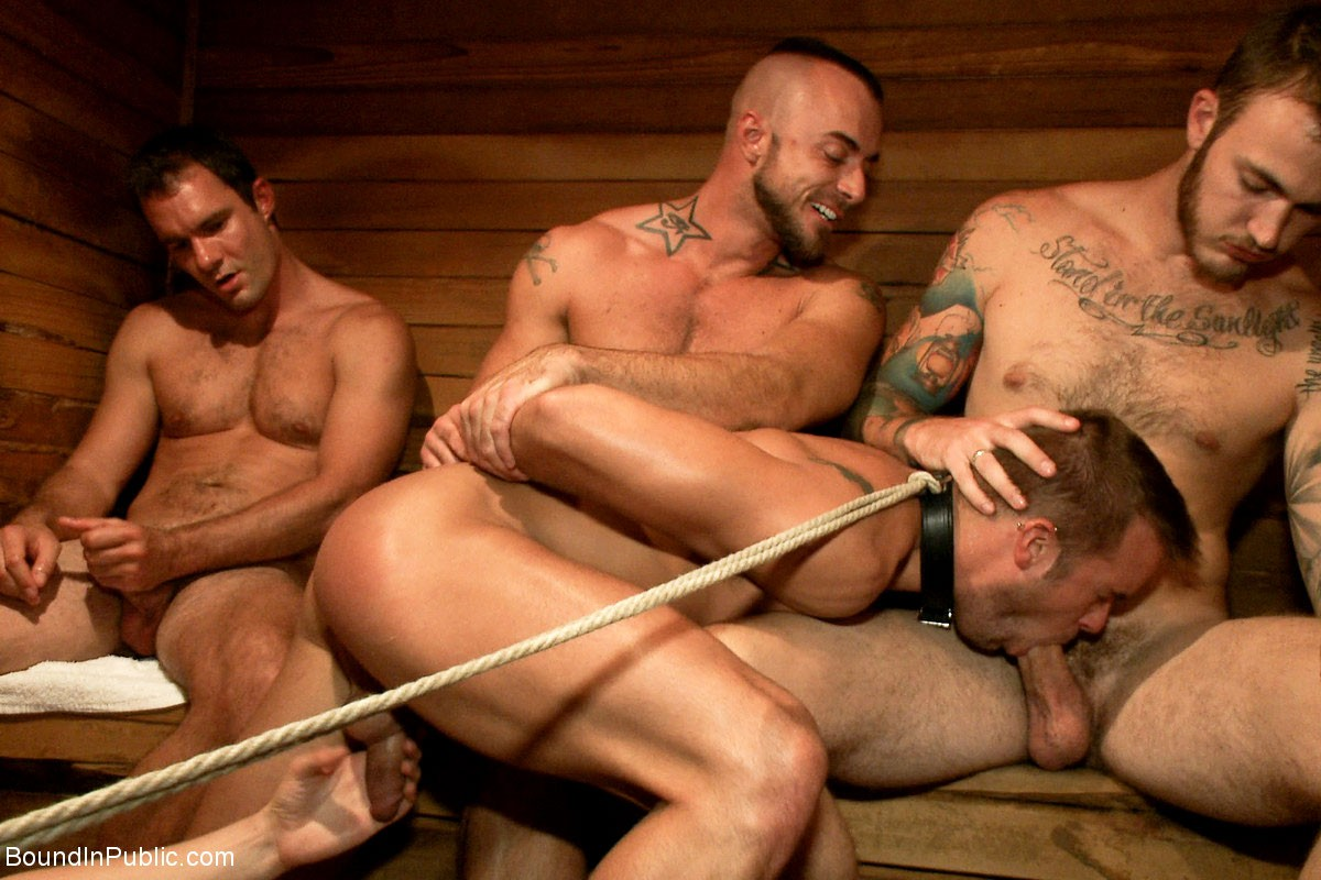 Fletcher recommend best of gang gay bang bathhouse