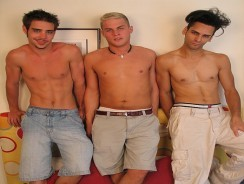 Devon And Ganador And Zack from Circle Jerk Boys