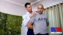 Marco And Airman Zach from All American Heroes