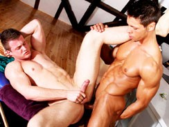 Arm Wresting The Dick from Big Daddy