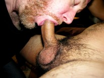 Dinos Messy Load from New York Straight Men