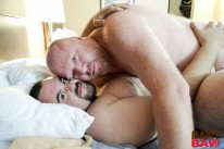 Billy Thorne And Taylor Micha from Hairy And Raw