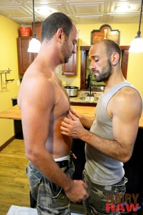 Jayden Brooks And Aaron Cedar from Hairy And Raw