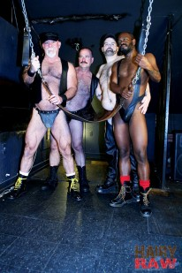 Bruce Clint Ethan And Mac from Hairy And Raw