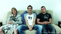 Mikey Nathan And Corey from Broke Straight Boys