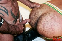 H And R Cumshot Explosion from Hairy And Raw