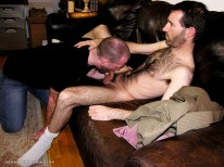 A Hairy Broker from New York Straight Men