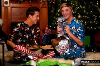 Luke And Jessies Twinkmas from Helix Studios