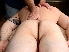 gay sex - Lucas Massage from Spunk Worthy