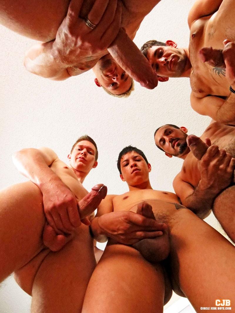 circle jerk porn